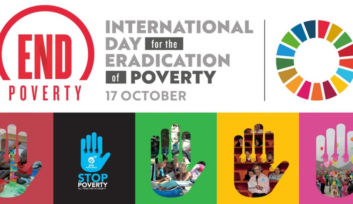 Image result for international day for the eradication of poverty