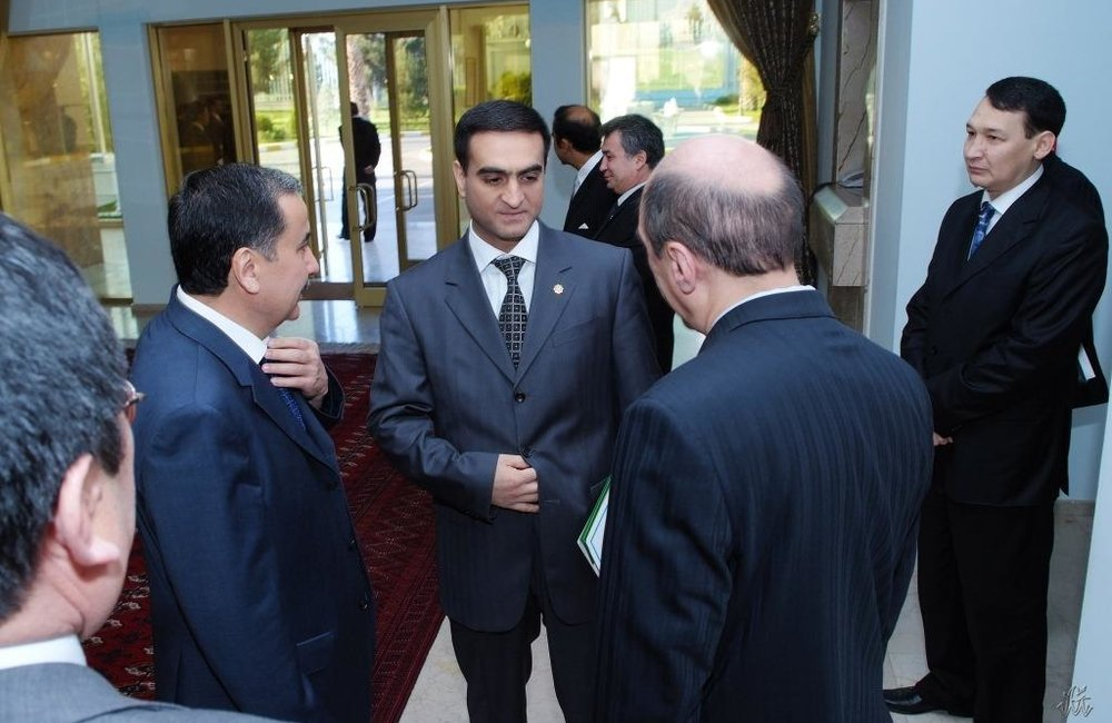 First Meeting of the Deputy Foreign Ministers, 16 October 2008, Ashgabat