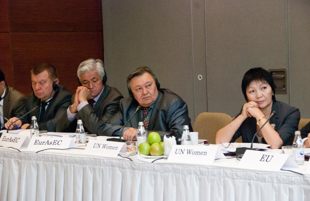Early Warning on Potential Trans-boundary Water Problem Situations in Central Asia, 26 September 2011, Almaty