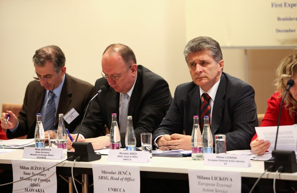First Expert Meeting, Bratislava