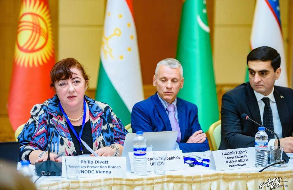 Effectively Countering the Financing of Terrorism, Ashgabat, 14-16 December 2016