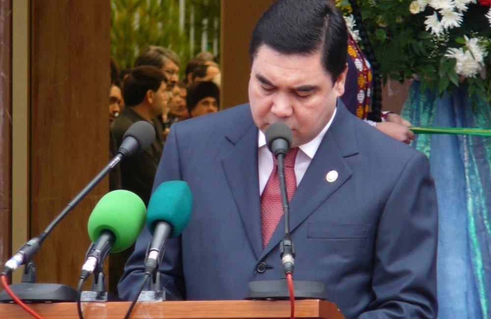 Gurbanguly Berdymuhamedov, President of Turkmenistan, makes an opening speech, Ashgabat, Photo # 3