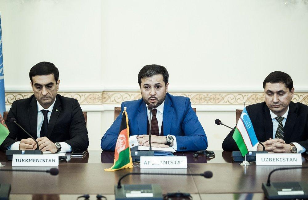 N. Andisha, Afghan Deputy Foreign Minister