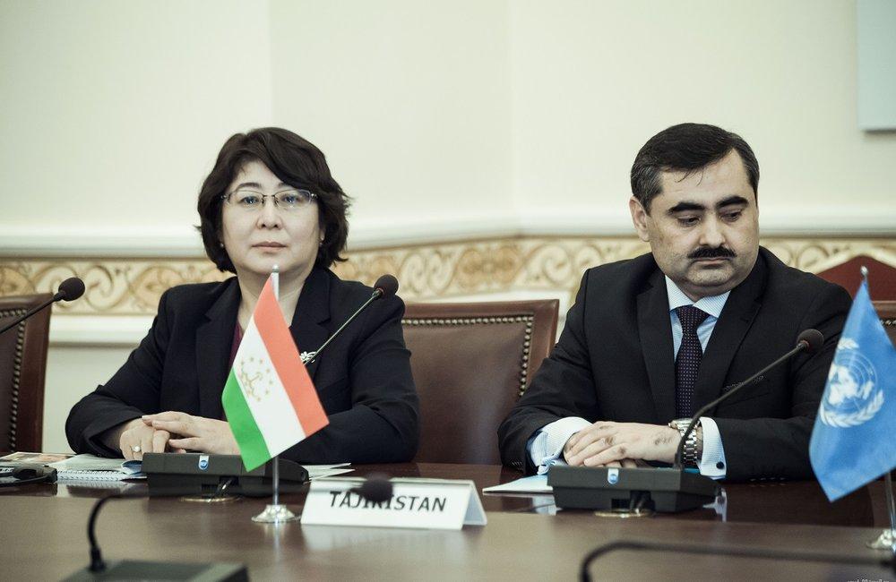 M. Huseynzoda, Tajik Deputy Foreign Minister