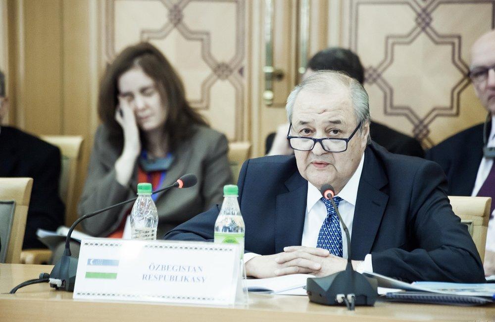 A.Kamilov, Uzbek Foreign Minister
