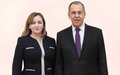 SRSG NATALIA GHERMAN MEETS WITH RUSSIAN FOREIGN MINISTER SERGEY LAVROV