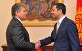Visit of SRSG Miroslav Jenča to Bishkek