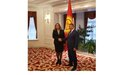 SPECIAL REPRESENTATIVE NATALIA GHERMAN MEETS SPEAKER OF THE PARLIAMENT AND VICE-PRIME-MINISTER OF THE KYRGYZ REPUBLIC
