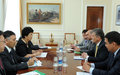 Press Statement on the visit of SRSG to Kyrgyzstan