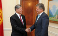 Special Representative of the Secretary- General Miroslav Jenča visits Kyrgyzstan