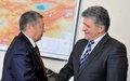 SRSG's visit to Kyrgyzstan