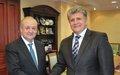 SRSG Jenča visits Uzbekistan