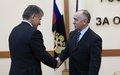 Visit of SRSG Miroslav Jenča to Moscow