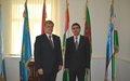 SRSG's visit to Uzbekistan