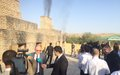 SRSG participates at the drug burning event in Turkmenistan