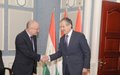 SRSG Draganov pays his first official visit to Tajikistan