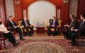 SRSG took part in a High-Level Expert Meeting in Dushanbe