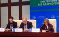SRSG participated at the «Building a Nuclear-Free-World» Conference