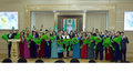 SRSG NATALIA GHERMAN PARTICIPATES IN A CEREMONY GRANTING PASSPORTS TO NEW CITIZENS OF TURKMENISTAN