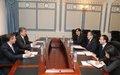 SRSG Miroslav Jenča's visit to Tajikistan