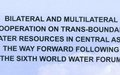 "Publication ""Bilateral and Multilateral Cooperation on Trans-Boundary Water Resources in Central Asia"