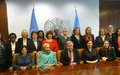 SRSG Natalia Gherman participates at the meeting of Female Heads and Deputy Heads of UN Missions