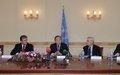 UN Secretary-General's press conference at UNRCCA