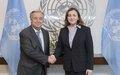 Secretary-General Appoints Natalia Gherman of the Republic of Moldova,  Special Representative, Head of the UN Regional Centre for Preventive Diplomacy for Central Asia (UNRCCA)