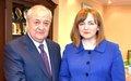Визит Cпецпредставителя Натальи Герман в Узбекистан