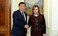 Визит Спецпредставителя Генсека ООН Натальи Герман в Кыргызстан