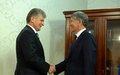SRSG Miroslav Jenča visits Kyrgyzstan