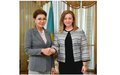 SRSG NATALIA GHERMAN VISITS THE REPUBLIC OF KAZAKHSTAN