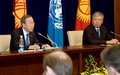 UN Secretary-General's joint press conference with Prime Minister Daniyar Usenov of Kyrgyz Republic