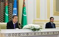 UN Secretary-General's joint press conference with President Berdimuhamedov of Turkmenistan