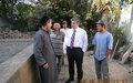 SRSG Jenča visits Kyrgyzstan