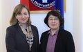 SRSG Natalia Gherman visits Kyrgyzstan