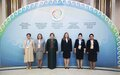 SRSG NATALIA GHERMAN PARTICIPATES IN LANDMARK FORUM OF THE WOMEN LEADERS' CAUCUS HELD BACK-TO-BACK WITH HEADS OF STATE OF CENTRAL ASIA CONSULTATIVE MEETING