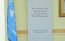 "Training ""International Legal Instruments on Transboundary Water Management"", 5-7 December 2011, Ashgabat"