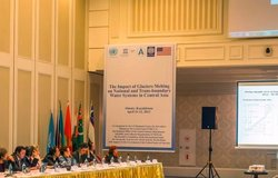 The Impact of Glaciers Melting on National and Trans-Boundary Water Systems in Central Asia, Almaty, 11-12 April 2013
