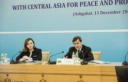 R. Meredov, Turkmen Deputy Prime Minister and Foreign Minister